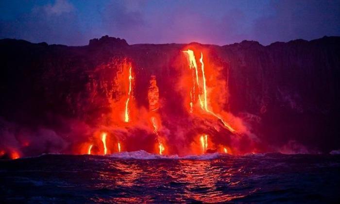Parques Nacionales. Parque Nacional de los Volcanes, Hawái, Estados Unidos