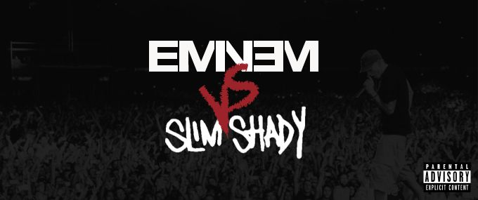 Eminem vs Slim Shady Album Art
