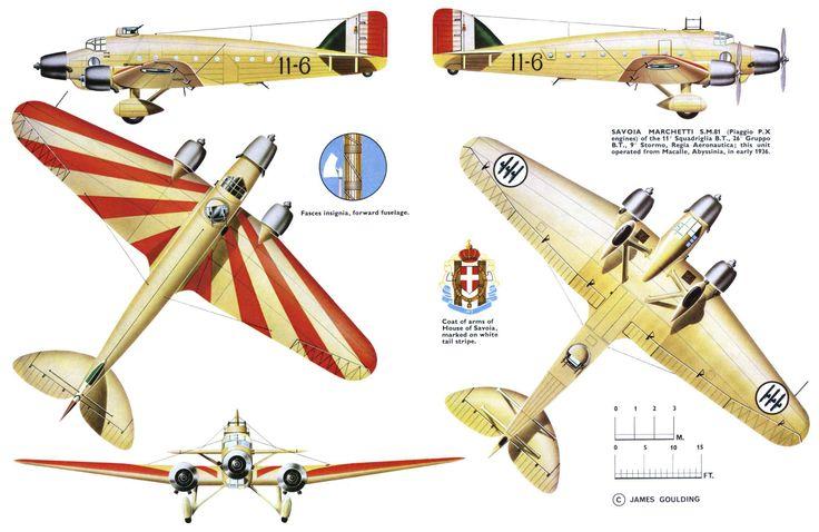 Savoia Marchetti SM 81 Pipistrello (1936)