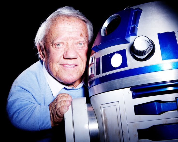"""R.I.P. Kenny Baker (1934 - 2016) Kenneth George """"Kenny"""" Baker was an English actor and musician. He was well known for portraying the character R2-D2 in the popular science-fiction movie franchise Star Wars. He passed away today at the age of 83."""