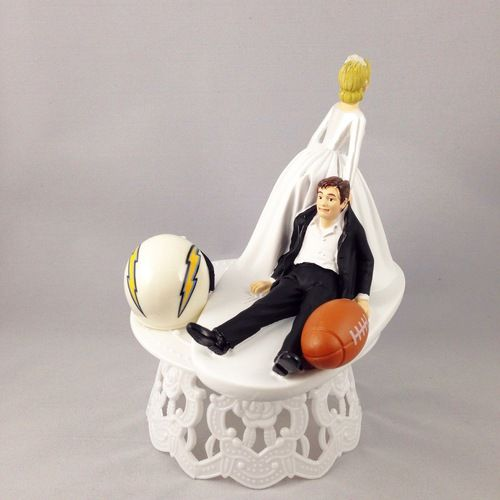 San Diego Chargers Cake: 34 Best Images About Sports Cake Toppers On Pinterest