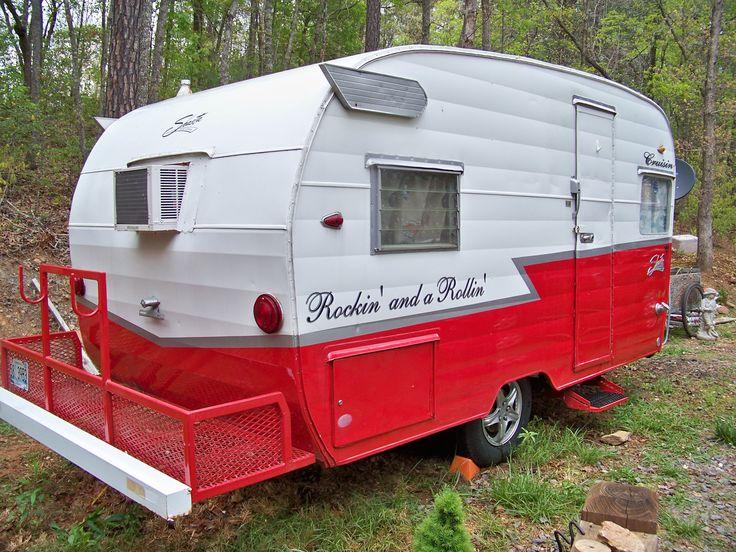 "my ""Daisy"" for sale on eBay! 1963 Shasta teardrop travel trailer FUN!"