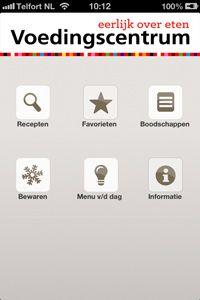 App Slim Koken | Voedingscentrum. Helpt om verspilling van voedsel te voorkomen