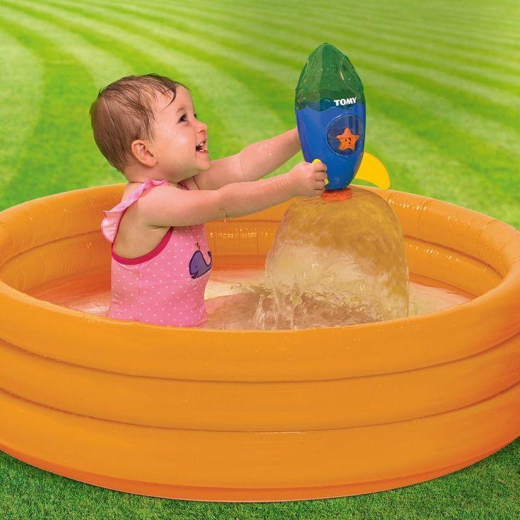 Fountain Rocket Bath Time Toy Plastic Floating Splashing Babies Toddlers Kids