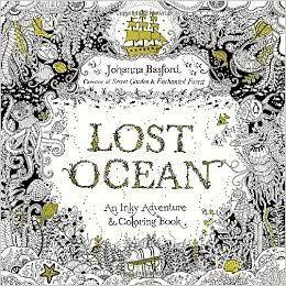 Lost Ocean, Johanna Basford, United Kingdom 🇬🇧 my rating 3