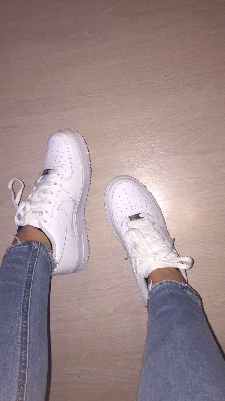 nike mujer zapatos blancos