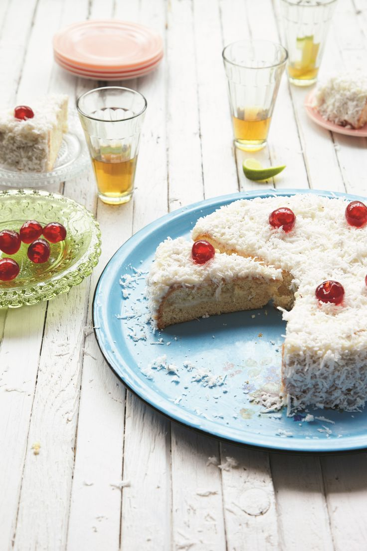Sharing Vanessa Bolosier's Mont Blanc Coconut Cake on the blog from her book 'Creole Kitchen' published by Pavillion Books: Photo: Clare Winfield
