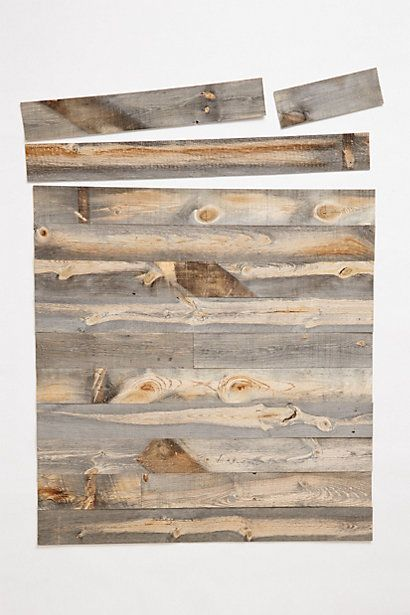 Peel & Stick Wood Wall Covering!!