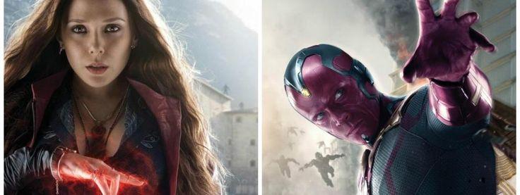 Scarlet Witch et Vision seront-ils en couple dans Captain America 3 Civil War ?