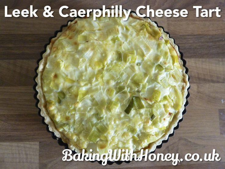 Leek & Caerphilly Cheese Tart