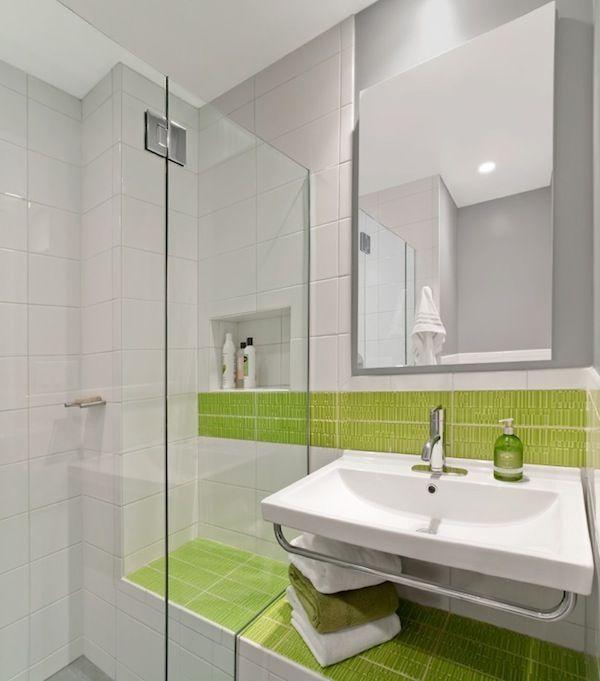 Light Green Bathroom Beauteous Design Decoration