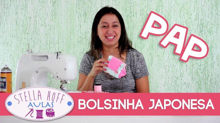 Aprenda a fazer uma Bolsinha Japonesa bem fofa, para vender o ano todo! Ja visitou o nosso blog hoje: http://stellahoffpatchwork.blogspot.com.br/ Também não ...