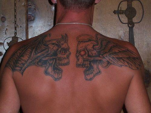 17 Best Images About Good Vs Evil On Pinterest: 14 Best Good Skeleton Tattoos Images On Pinterest