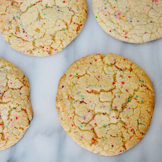 Eva Bakes - Momofuku Milk Bar confetti cookies