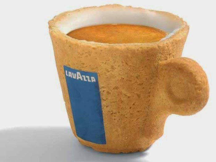 Vida-EcoVerde : Taza de café comestible