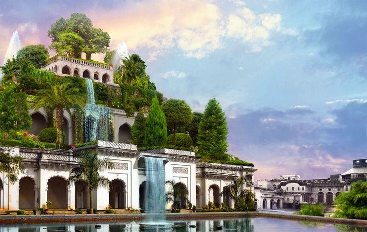 #Storia #Mesopotamia #MeraviglieDelMondo: Giardini pensili di Babilonia • La storia, gli studi e le ipotesi su una delle 7 meraviglie del mondo antico  http://cultura.biografieonline.it/giardini-pensili-babilonia/