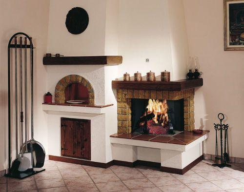 Revestimiento de chimenea tradicional / con horno 7100 Jolly-mec