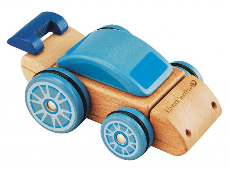 EverEarth Interchangeable Car made from FSC certified sustainable beech wood helps children learn how pieces fit together to make something new, as well as improving dexterity. The parts fit together to make a car, digger or dumper.