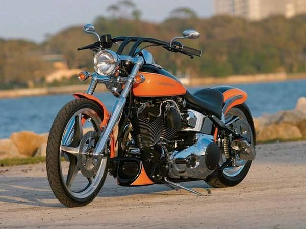 2002 Harley Davidson FXSTDI Softail Deuce Custom  #motorbikes #motorcycles #motocicletas