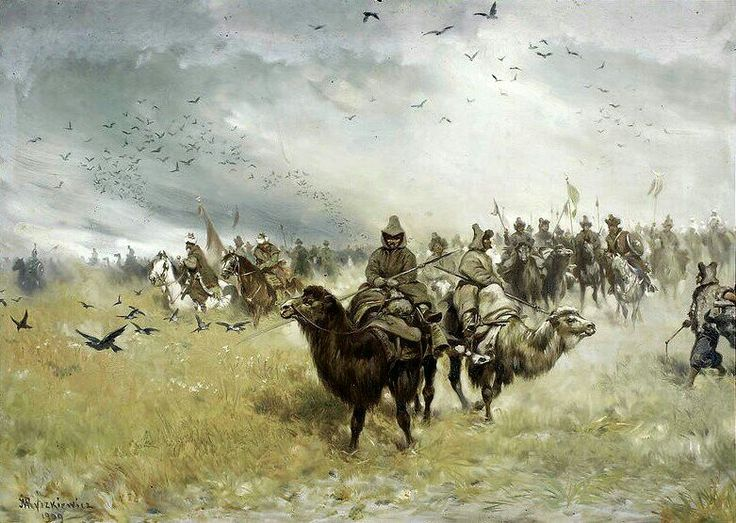 Tatars in the vanguard of the Ottoman army