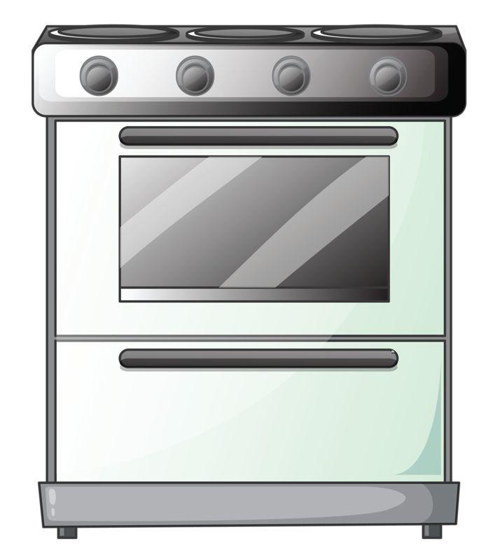 Картинка для детей плита на кухне