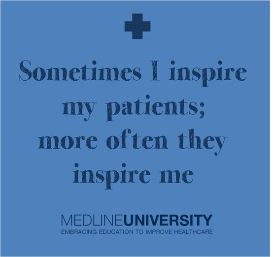 Attractive Sometimes I Inspire My Patients; More Often They Inspire Me. #Nurses #Nurse