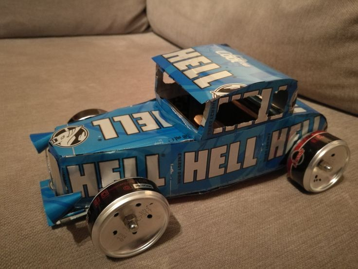 Hell Ford 1932 5 window coupe roadster (soda can)