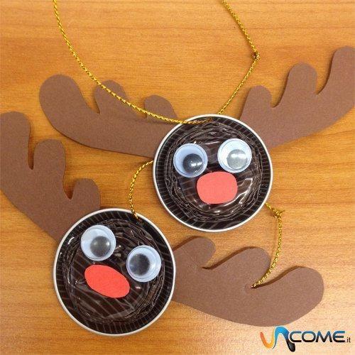 Comment faire un renne de Noël avec des caspsules Nespresso #Recup #DIY #Noel