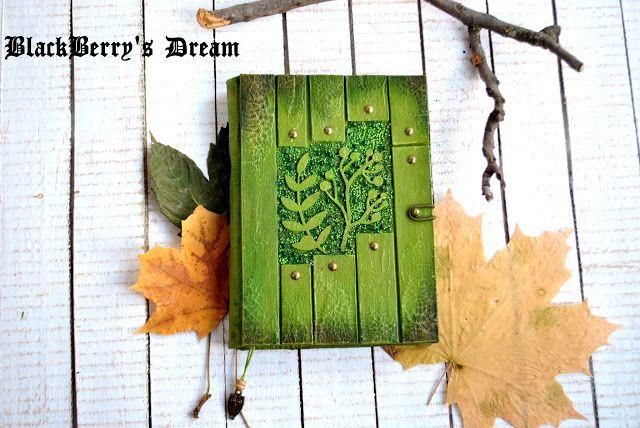 ~Blackberry's • DREAM~: Лесные-травяные блокнотики