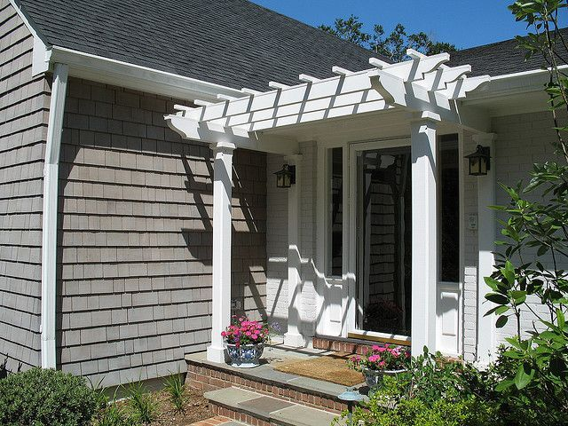 150 best Front Porch Pergola images on Pinterest | Craftsman homes ...