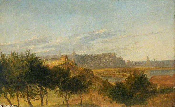 Voir d Aberdeen Du Sud de James William Giles (1801-1870, United Kingdom)
