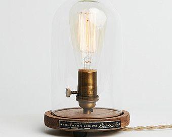 Escritorio de campana de Edison lámpara  lámpara de sobremesa
