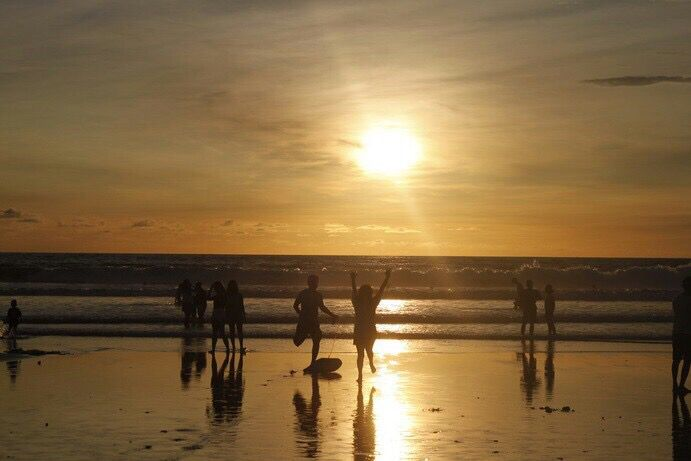 Sunset on Legian 26-29 Dec 15 #exploreindonesia