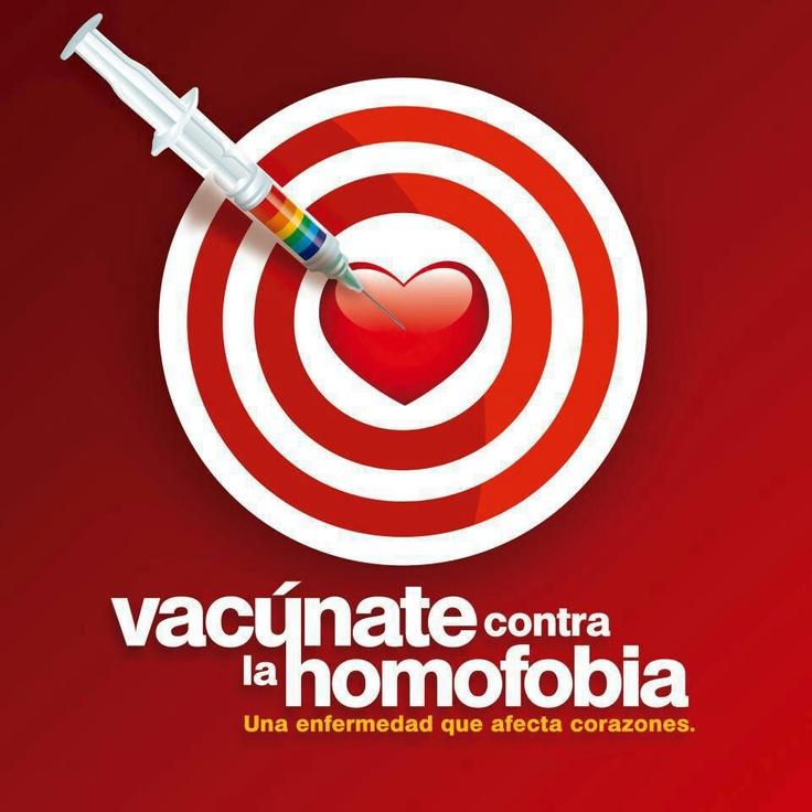 Vacunate contra la #homofobia