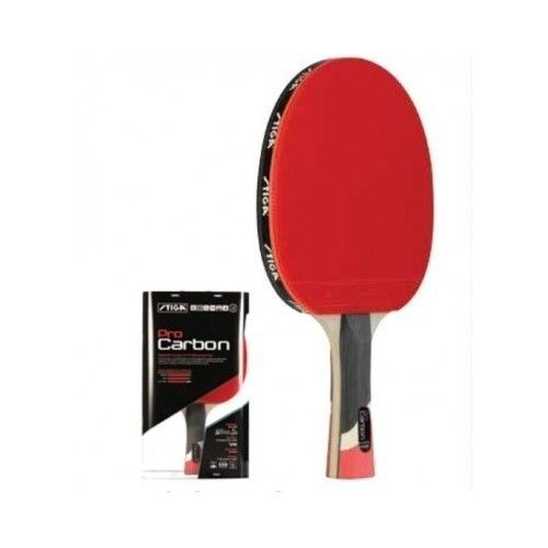 Table Tennis Racket Paddle Ping Pong Blade Carbon Concave Handle Lightweight Bat #STIGA