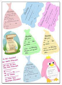 15+ best ideas about kindergeburtstagseinladungen on pinterest, Einladung