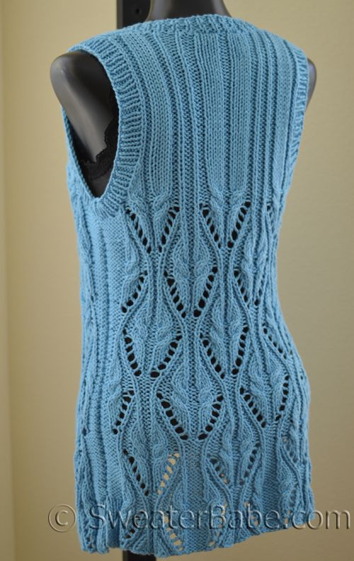 Free Crochet Cotton Vest Pattern : 418 best images about Knit and Crochet on Pinterest ...
