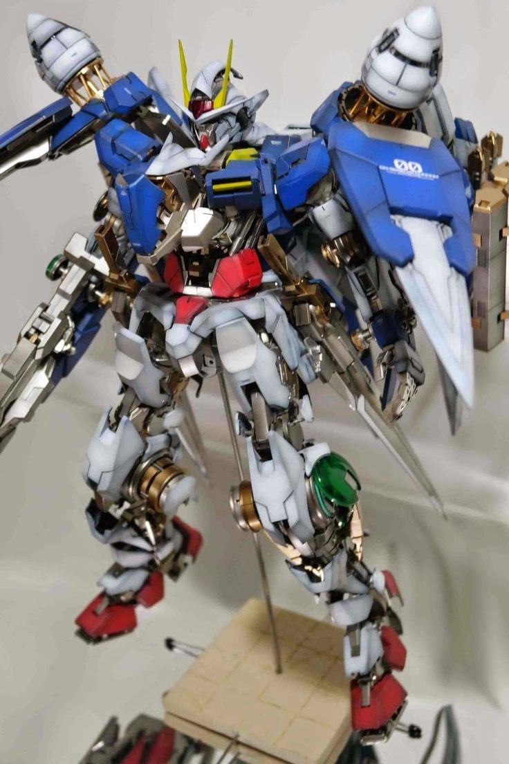 Custom Build: PG 1/60 00 Raiser Open Hatch Presentation - Gundam Kits Collection News and Reviews