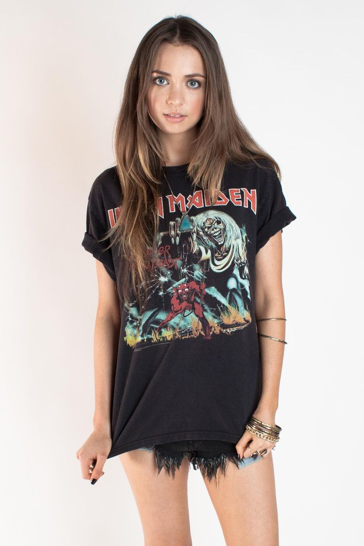 Iron Maiden Tee www.matevintage.com/whatsnew #MATEvintage