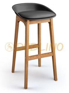 DL CONCORD BS BLACK OAK - barová židle