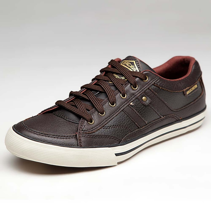 Skechers Men #Shoes #Chocolate #Casual Rs.3499