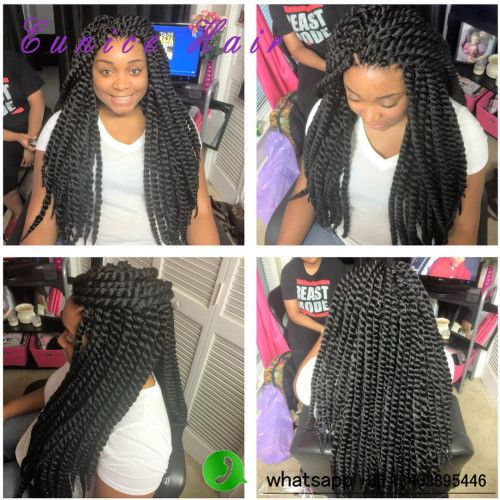 Crochet Braid Hair Curly Crochet Havana Braids JUMBO Hairstyles