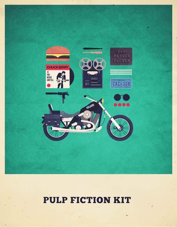 Movies Hipster Kits – Les posters rétro d'Alizée Lafon