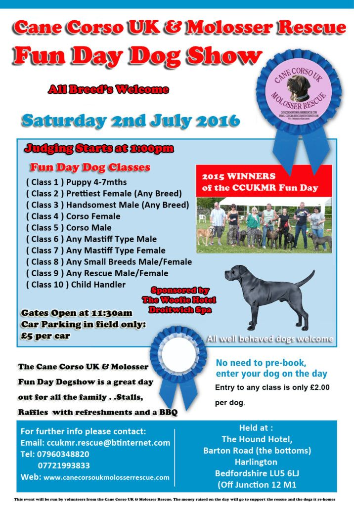 Saturday 2nd July  <br/>   CCUKMR Fun Day