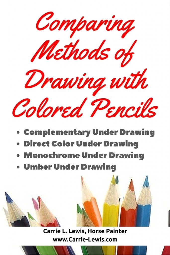 Comparing Methods of Drawing with Colored Pencils