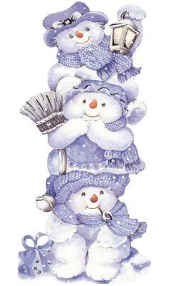 Sweet snowman graphic