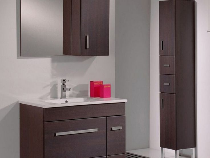Bathroom Model Minimalist Bathroom To Bathroom Cabinets Tall With Dark Brown Dominant Color Tall Bathroom Cabinets Are Suitable Design and Appearance