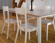 Whitewash danish table