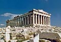 The Acropolis in Athens, Greece!
