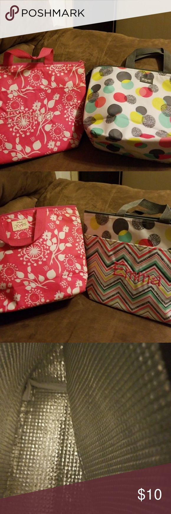 Thirty One Lunch Tote (Emma) 2 - Thirty One Small Lunch Totes mammogram with Emma Thirty One Bags Totes
